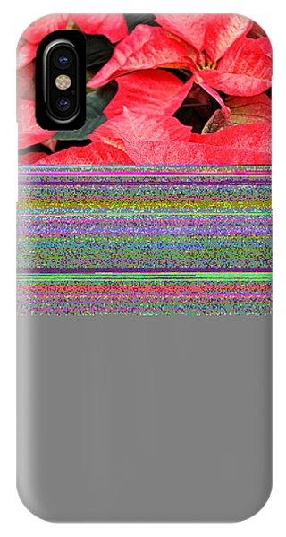 Christmas Poinsettia's Phone Case by Carol Toepke