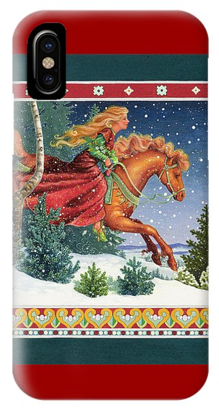 Christmas Ride IPhone Case