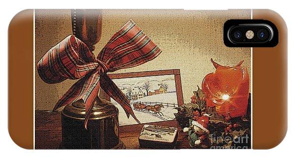 Christmas Still Life IPhone Case