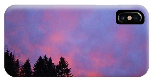 Christmas Sunrise Phone Case by Lisa Rose Musselwhite