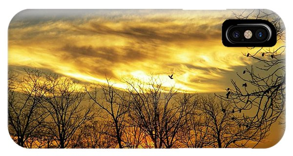 Christmas Sunrise IPhone Case