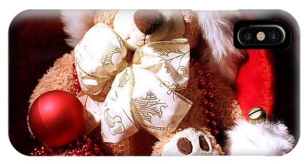 Christmas Teddy IPhone Case