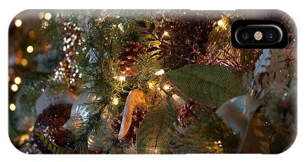 Christmas Tree Splendor IPhone Case