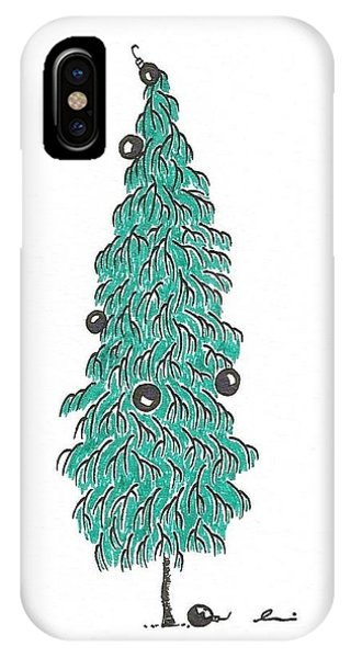 Christmas Tree 2 IPhone Case