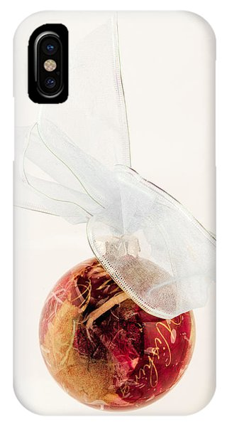 Christmas Decoration Decoupaged IPhone Case