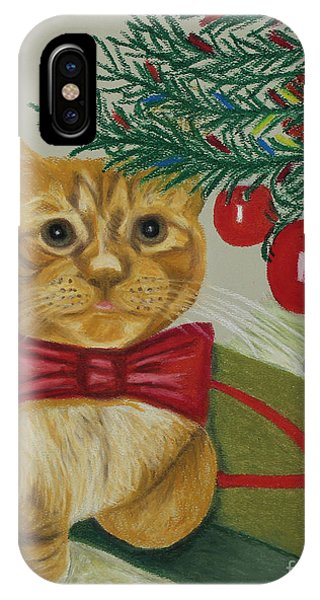 Christmas With Rufus IPhone Case