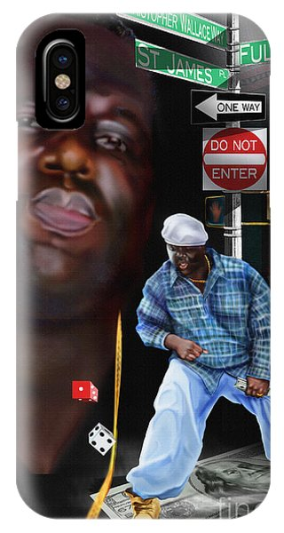 Christopher Wallace Way - Biggie IPhone Case