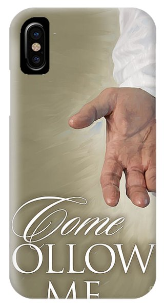Christ's Hand IPhone Case