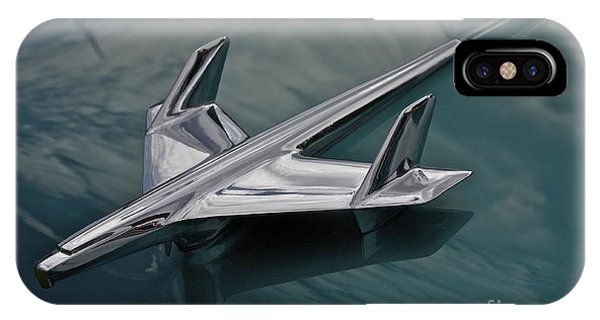 Chrome Airplane Hood Ornament IPhone Case