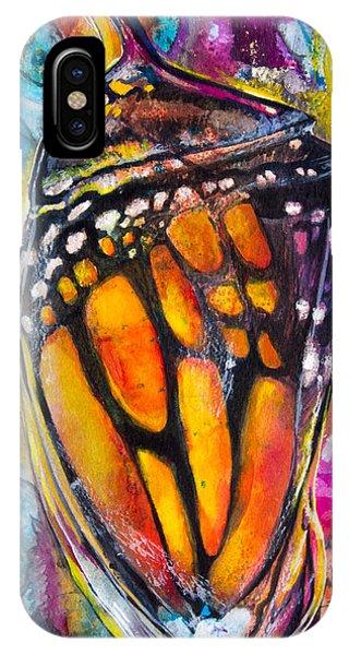 Chrysalis iPhone Case - Chrysalis by Patricia Allingham Carlson