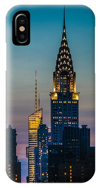 Chrysler Building At Sunset IPhone Case