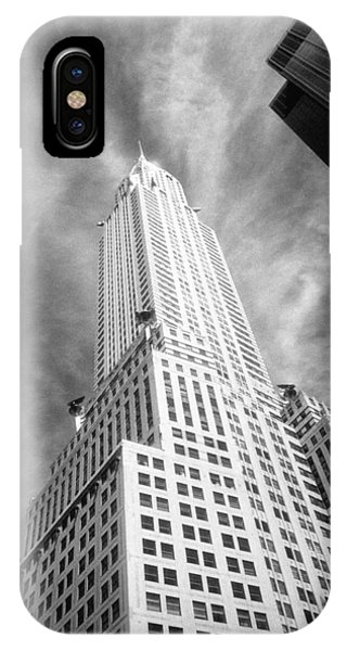 Chrysler Building Infrared IPhone Case