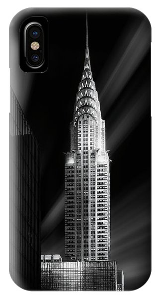 Buildings iPhone Case - Chrysler Building by Jorge Ruiz Dueso