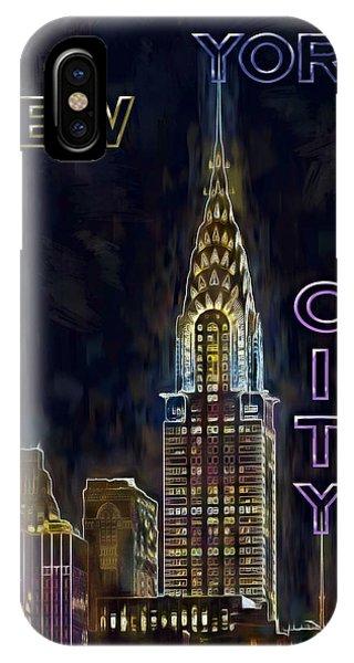 Chrysler Building New York City Nyc IPhone Case