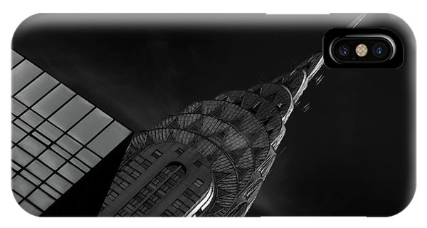 Chrysler Building iPhone Case - Chrysler by Hans-wolfgang Hawerkamp