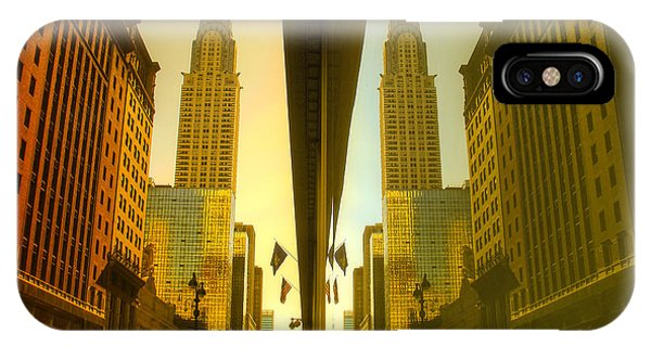 Chrysler Reflection On 42nd Street IPhone Case