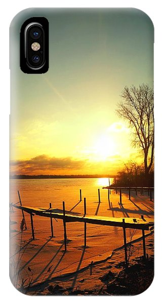 Chtistmas Dock 1 IPhone Case