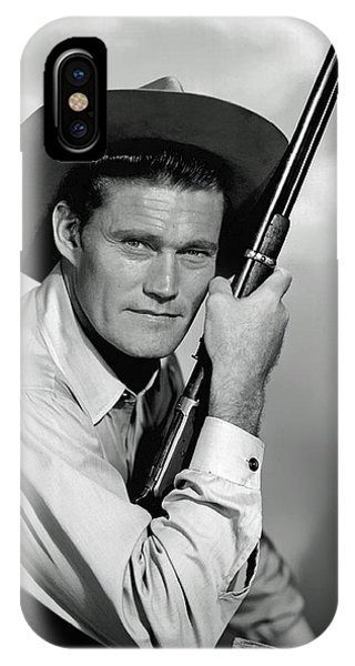 The iPhone Case - Chuck Connors - The Rifleman by Mountain Dreams