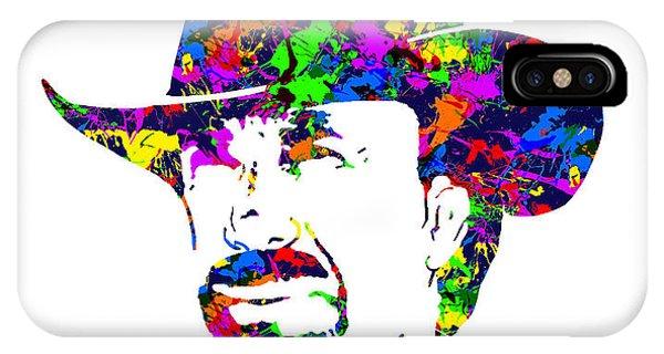 Chuck Norris Paint Splatter IPhone Case
