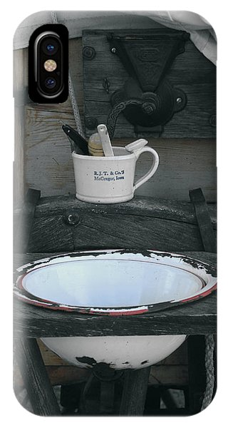 Chuckwagon Wash Basin IPhone Case