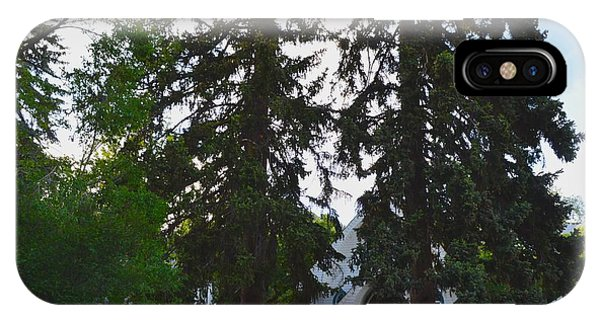 Church And Trees. Phone Case by Maegan Dann