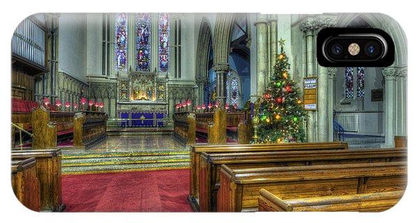 Church At Christmas V3 IPhone Case
