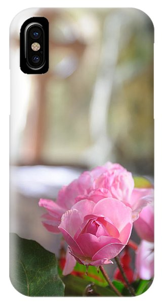 Church Flowers IPhone Case