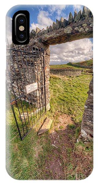 Church Gate IPhone Case