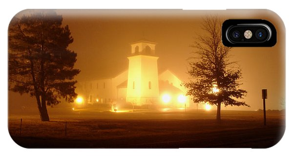 Church In The Fog IPhone Case