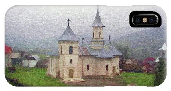 Church In The Mist IPhone Case