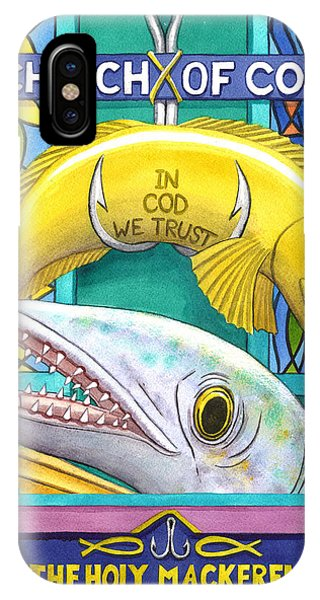 Church Of Cod IPhone Case