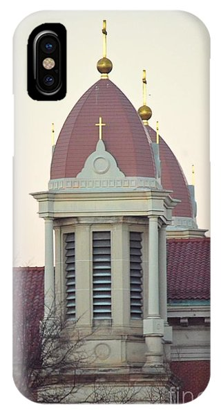Church Of Gold Crosses IPhone Case