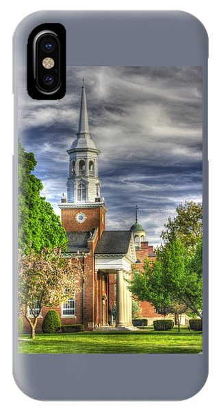 Church Of The Abiding Presence 1a - Lutheran Theological Seminary At Gettysburg Spring IPhone Case