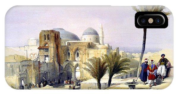 Church Of The Holy Sepulchre In Jerusalem IPhone Case