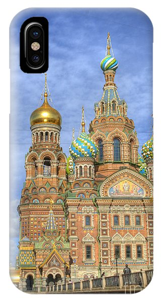 Russia iPhone Case - Church Of The Saviour On Spilled Blood. St. Petersburg. Russia by Juli Scalzi