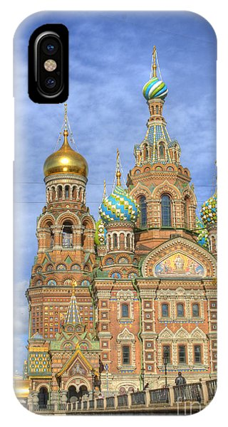 Church Of The Saviour On Spilled Blood. St. Petersburg. Russia IPhone Case