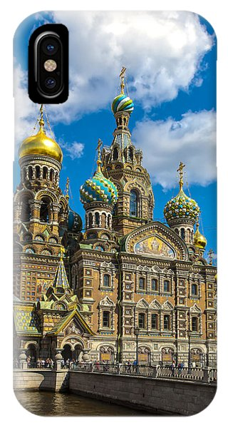Church Of Spilled Blood IPhone Case