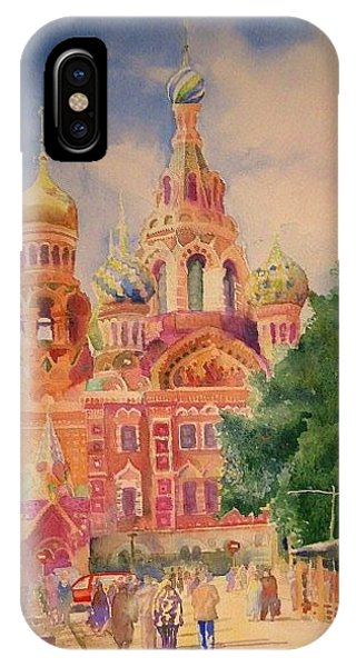 Church On The Spilt Blood IPhone Case