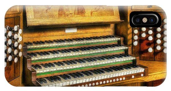 Church Organ Art IPhone Case