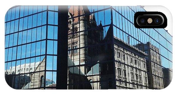 Church Reflection Boston IPhone Case