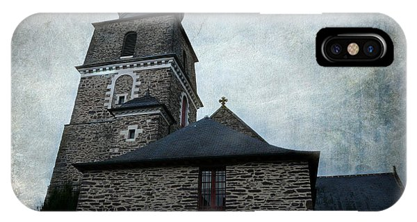 Church Saint Malo IPhone Case