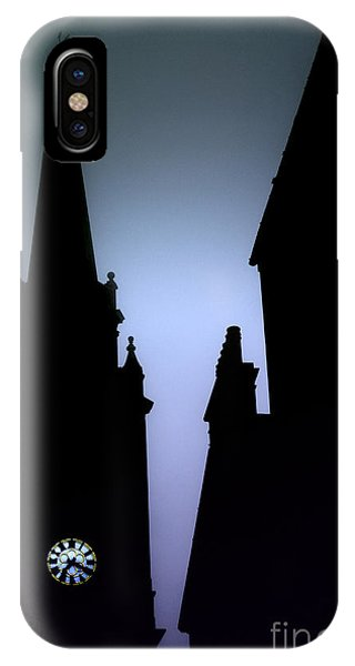 Church Spire At Dusk IPhone Case