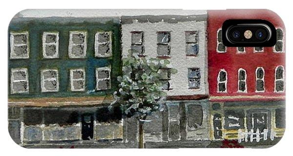 Pennsylvania - Church Street In Montrose IPhone Case