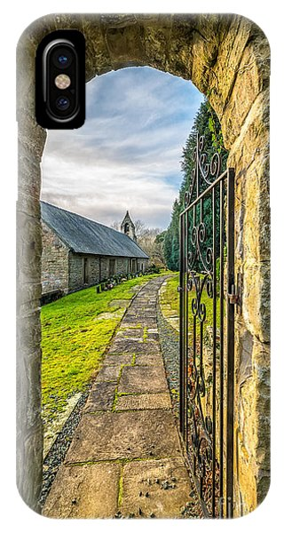 Chapel iPhone Case - Church Way by Adrian Evans