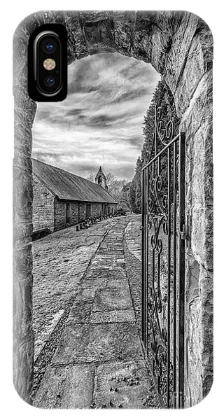 Celtics iPhone Case - Church Way V2 by Adrian Evans