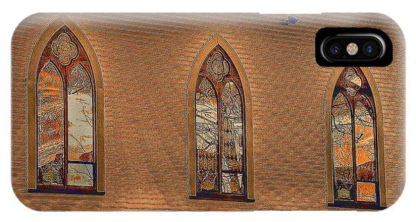 Church Windows IPhone Case