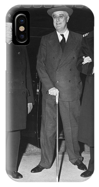 Churchill And Roosevelt IPhone Case