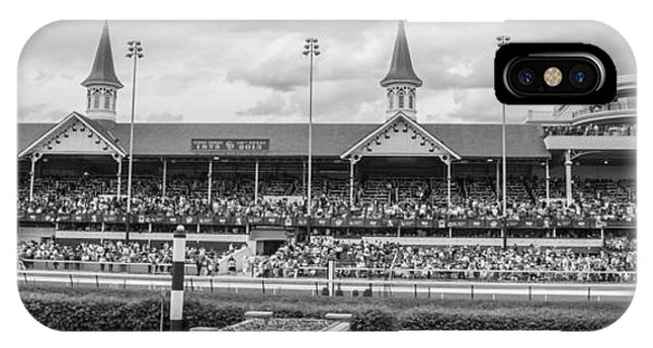 Churchill Downs And Twin Spires  IPhone Case