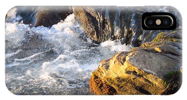 Churning Little Waterfalls On The Watauga IPhone Case