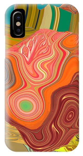 Churning Waves Of Change IPhone Case